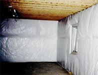 Insulation and shelving solutions insulation action for Blanket insulation basement walls